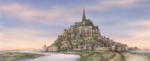 Mont-Saint-Michel by midoriharada