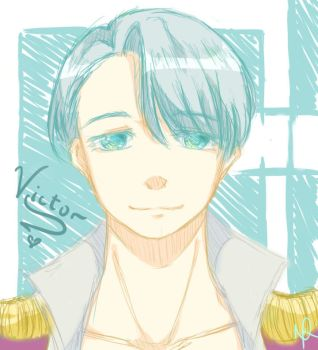 Yuri On Ice: Victor by ChocoBerryINK