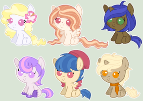 Foal Auction by sararini