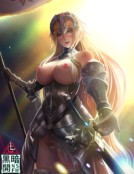 Fate/GrandOrder Lily Jeanne d'Arc(NSFW) by Limdog