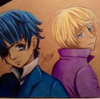 cial and alois by Sophiethebrave
