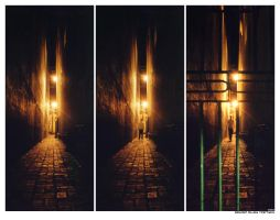 golden alley triptych by systemaddikt