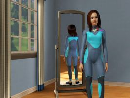 Laura Jane Taylor Alternate Outfit: Swim/Spacesuit by SavvyRed