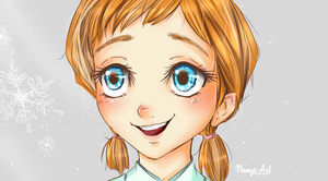 Young Anna - Frozen by Namyi
