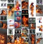 FireStorm Photoshop Action by GraphicAssets