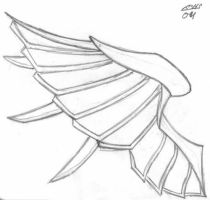 Tattoo Angle Wing by OkageNoLogan