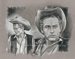James Dean by scotty309