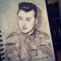 Sam Smith by PavlovArt