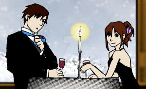 Winter Date by Crystallii