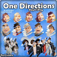 one direction pack png by luceroval