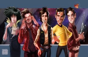 Space Cowboys by DevonneAmos