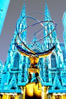 Altas, St Patrick's Cathedral by sumanprajapati