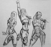 sketches Tali (106) by spaceMAXmarine