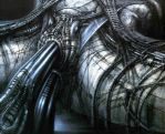 Erotomechanics by H. R. Giger by awolgina