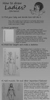 How to draw ladies (the basics) by muhboobz