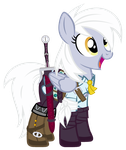 Derpy Ciri by PixelKitties