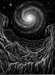 Frozen Spiral by AstroVisionary