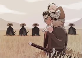 Lone Wolf and Cub by mendigo-amigo