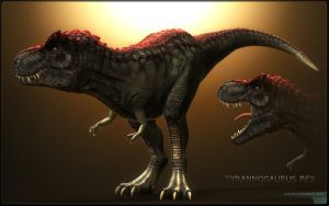 T Rex rendered by sash4all
