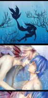 Mermaid and Man by Lavi-Li