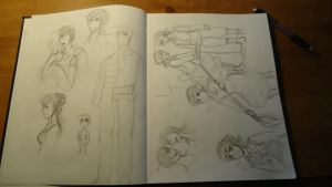 New sketch book C: by anto99