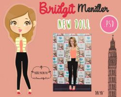 Bridgit Mendler Doll by AbbeyDenith