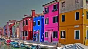 Burano Glowing... by Wimley
