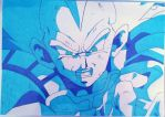 Vegeta - Cell's End  by AjkaSketch