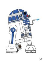 R2D2 by striffle