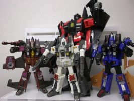 THE CONEHEADS HAVE A NEW LEADER MEGATRON! by forever-at-peace