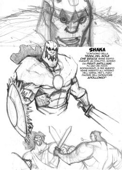 Camelot Chronicles Shaka by alessandromicelli