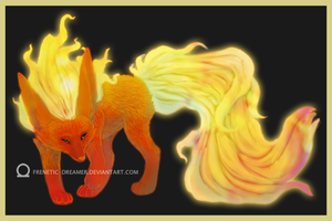 Flareon by Frenetic-Dreamer