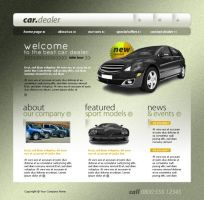 cars layout psd html FREE :5 o by 14koles14