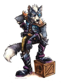 Wolf O'Donnell by kenket