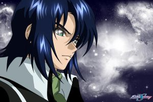 Athrun zala in starry night by lovedreams