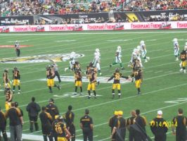 ticats vs roughriders sept 14th 2014 by Musicislove12