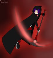 Sandra The Hell Grim Reaper by CrystalViolet500