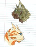Cat Doodles by The-Phan
