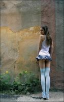 The girl from anime by photoport