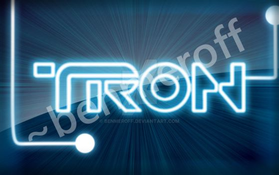 Tron Wallpaper by benmeroff