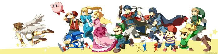 smash brothers X by muse-kr