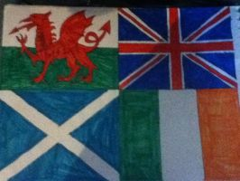 Flags of the British Isles by twx655