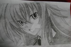 Rias Gremory by Bloudy92