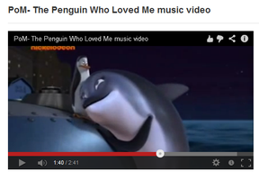 The Penguin Who Loved Me music video by theneopetmaster