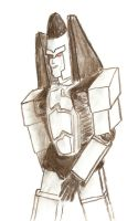 Ramjet, Charcoal, Amature by SheepSlave