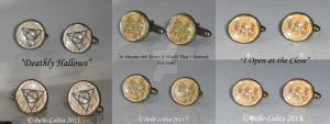 Harry Potter Quotes Cuff Links 16mm by Belle-Lolita-Designs