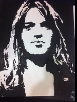 David Gilmour, Pink Floyd by Kelly11AtTheDisco