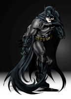 Batman by Rudy Vasquez by dorky-mcporky