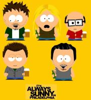 Always Sunny in South Park by carpediem101