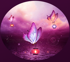 Butterfly Lights 2 by EnchantedWhispersArt